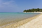 Beach at Chalkidiki, Greece