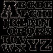 Set of Stitches Alphabet A-Z