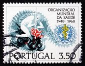 Postage Stamp Portugal 1968 Victory Over Disease