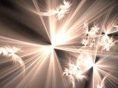 Beings of Heavenly Light - fractal illustration
