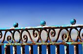 Rusty Balustrade