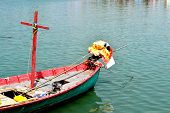 Colorful Fishing Boat In Thailand