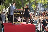 LOS ANGELES - JAN 29: Cheryl Hines, Kevin Nealon at a ceremony as Cheryl Hines is honored with 2,516th Star on the Hollywood Walk of Fame on January 29, 2014 in Los Angeles, CA