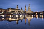 Dresden, Germany on the Elbe River.