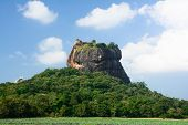 picture of reign  - Sigiriya is an archeological site in North Central Sri Lanka - JPG