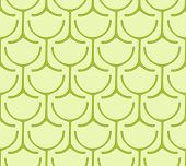 Seamless Wine Glass Pattern