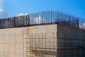 reinforced concrete basement column for high speed train bridge in Spain