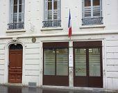 The municipal police precinct in Lyon