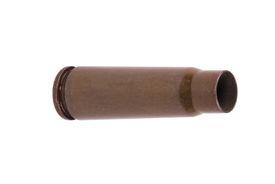 stock photo of tommy-gun  - image of one Kalashnikov Gun Shell Isolated - JPG