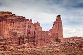 Famous Fisher Towers In Utah Near Arches National Park
