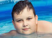 Youngster In Swimming Pool