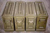 Four Ammunition Boxes