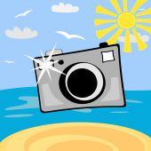 Cartoon Photo Camera