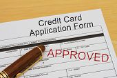 Credit Card Application Form