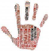 Tag Cloud Illustration Related To Separatism