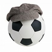 Soccer Ball With A Cap