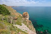 Rocky Coast Of Kaliakra Headland, Bulgaria, Black Sea Coast