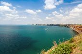 Kaliakra Headland Panoramic Landscape, Bulgarian Black Sea Coast