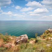 Coast Of Kaliakra Headland, Bulgarian Black Sea Coast