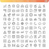 stock photo of tent  - Icon Set for Web and Mobile - JPG