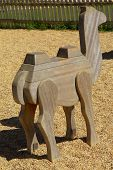 Wood Camel Toy poster