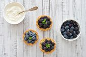 Mini Tart With Fresh Berries