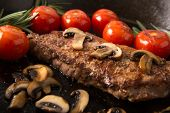 Grilling Strip Loin Steak Series: The Steak Is Ready