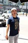 LOS ANGELES - JUL 29:  Taku Hirano at the Celebrity Sighting at the Magnolia Restaurant on July 29, 2014 in Los Angeles, CA