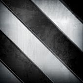 metal with stripe pattern