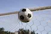 Ball In The Goal Net