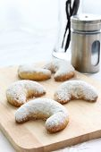 German Christmas vanilla cookies