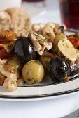 Olive And Mushroom Antipasti