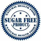 Sugar Free Product-stamp