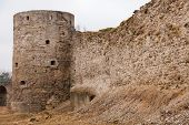 Koporye Fortress In Historic Village. Leningrad Oblast, Russia