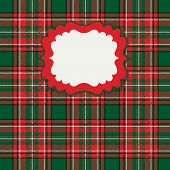Traditional tartan seamless pattern