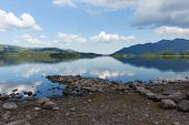 English Lake District Derwent Water Cumbria England uk near Keswick