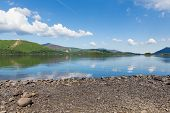 Derwentwater Lake District National Park Cumbria England uk near Keswick