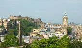 Edinburgh skyline as seen from Calton Hill