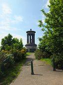 Dugald Stewart Monument on Calton Hill