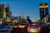 Las Vegas Boulevard by night