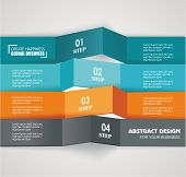 Design Color Number Banners Template For Info Graphic Or Website Layout