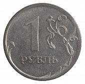 Russian Rubles Coin