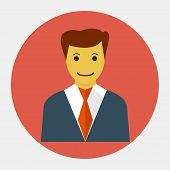 Vector avatar user icon