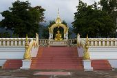pic of dharma  - dharma center is tourist attraction at chiang mai  - JPG