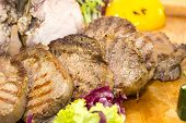 loin and steak