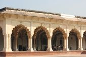 Agra Fort colonnade
