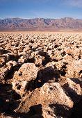 Sea Level Devil's Golf Course Death Valley Panamint Range