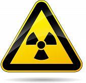 Radioactivity Yellow Sign