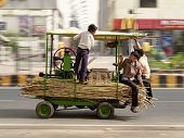 Sugar Cane Juice , Panning A Camera