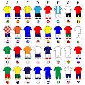 Brazil 2014 Cup Jerseys Football Kits
